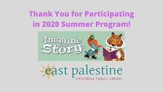 Thank you for participating in Summer Program