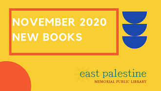 November 2020 New Books on yellow background